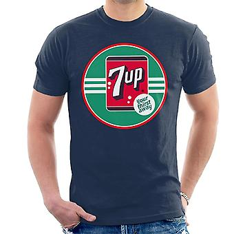 7up 40s Logo Your Thirst Away Men 's T-Shirt