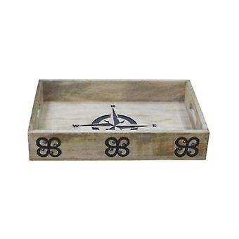 Deco4yourhome Wooden Tray