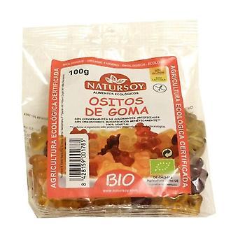Luomu teddy gummies (gluteeniton) 100 g