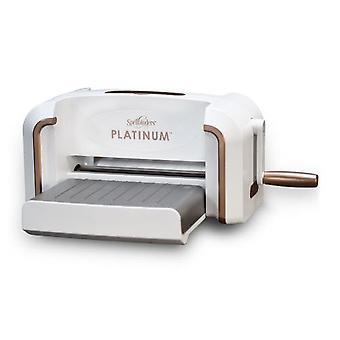 """Spellbinders Platinum Die Cutting And Embosseing Machine-8.5"""" Plate-forme"""