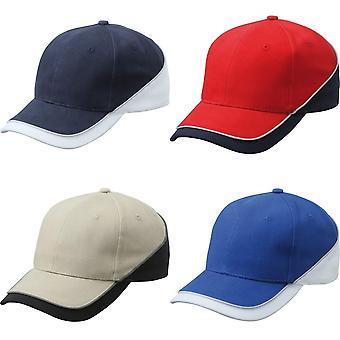 Myrtle Beach Adults Unisex 6 Panel Turbo Piping Cap
