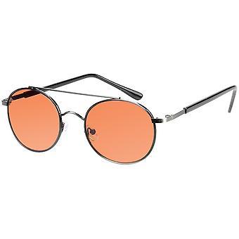 Sunglasses Unisex grey with orange glass (AZ-17-602)