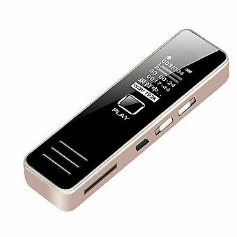 32 Go d'enregistrement à distance rechargeable digital audio sound recorder dictaphone Mp3 Player Dsp Réduction du bruit Hd