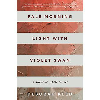 Pale Morning Light with Violet Swan by Deborah Reed & Reed