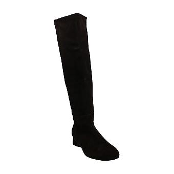 Stuart Weitzman Womens Eloise 30 Suede Almond Toe Knee High Fashion Boots