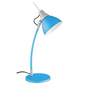 Lâmpada BRILHANTE Jenny Lâmpada de Mesa Azul | 1x D45, E14, 40W, adequado para lâmpadas de gota (não incluídas) | Escala A++ para