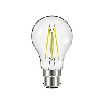 Energizer® LED BC (B22) GLS Filament Non-Dimmable Bulb, Warm White 806 lm 6.2W