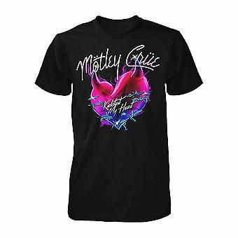 Motley Crue Kickstart My Heart T shirt