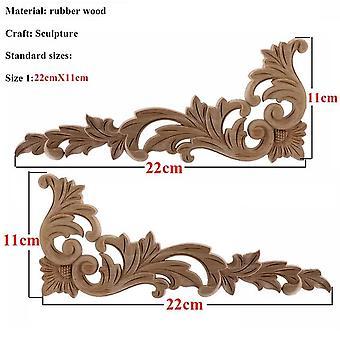 Einzigartige natürliche, Floral, Holz geschnitzt - Figuren Handwerk