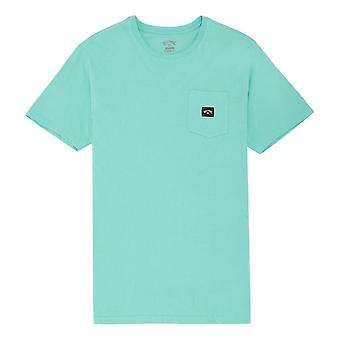 Billabong Stacked T-Shirt - Light Aqua