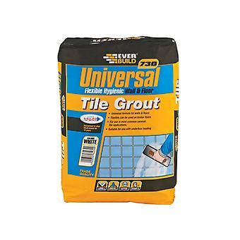 Everbuild Universal Flexible Grout Blanco 5kg EVBUFLEX5WE
