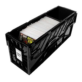 BCW Long Comic Book Bin (Black)