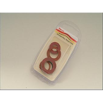 Primaflow Fibre Washers Assorted x 6 90010015