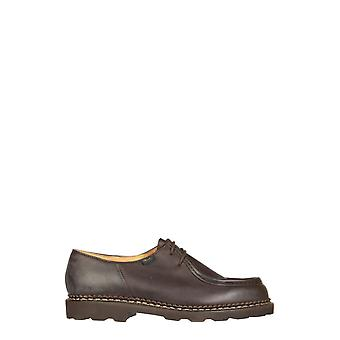 Paraboot 715612 Men's Brown Leather Lace-up Shoes