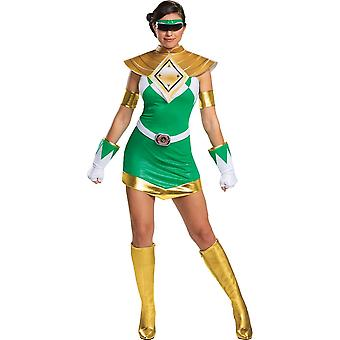 Women's Green Ranger Deluxe Costume - Mighty Morphin