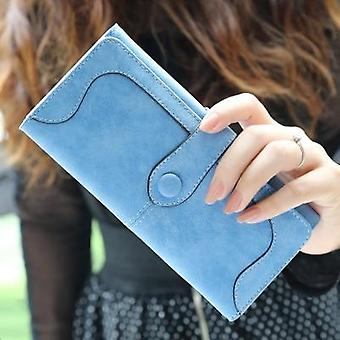 Women Matte Leather Lady Purse High-quality Female Wallets Card Holder