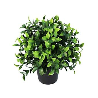 Small Potted Artificial Jasmine Plant Uv Resistant 20 Cm