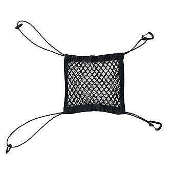 Auto Car Seat Grid Side Storage Mesh, Net Pouch Bag, Phone Holder Pocket