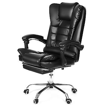 Wcg Office Gaming& Reclining Gaming Chair Swivel Pu Leather Office Chair