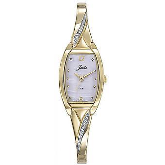 Horloge Certus 630516-JOALIA Bo tier Steel dor Tonneau vrouwen dor stalen armband