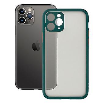 Мобильная обложка iPhone 11 Pro KSIX Duo Мягкий зеленый