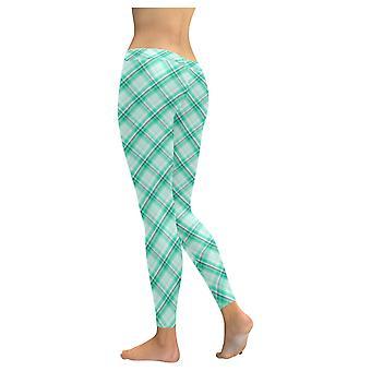 Kvinner's Rutete Leggings