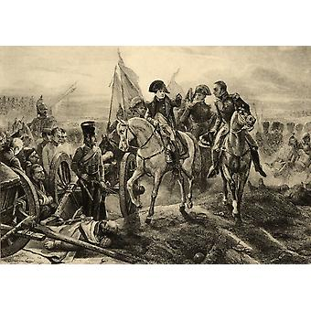 Battle Of Friedland 14Th June 1807 French Victory Under Napoleon Against The Russians Under General BenigssenPhoto-Etching After The Painting By Horace Vernet From The Book  Lady JacksonS Works Xii Th