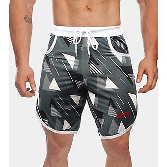 Summer Workout Breathable Mesh Quick Dry Sportswear Jogger Beach Short Pants