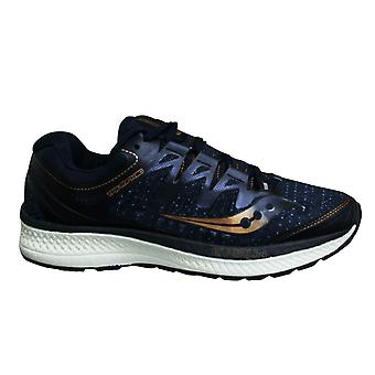 Saucony Triumph Iso 4 Navy Blue Low Lace Up Mens Running Trainers S20413 30