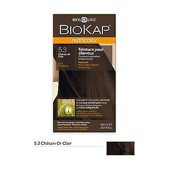 Hair color 5.3 Light gold brown 140 ml