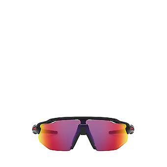 Oakley OO9442 polished black male sunglasses