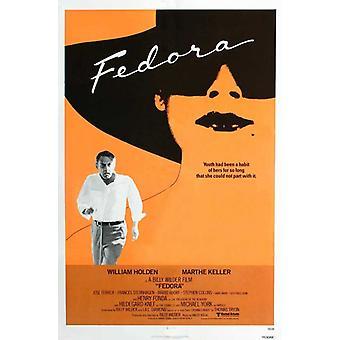 Fedora elokuvan juliste tulosta (27 x 40)