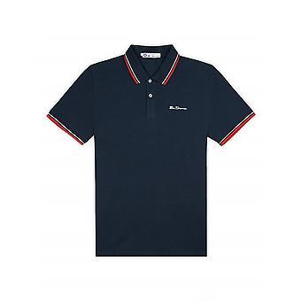 Ben Sherman Tipped Pique Polo Shirt