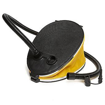 New Eurohike 3L Bellows Foot Pump Yellow