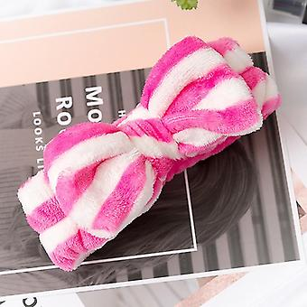 Letter Omg Headbands, Bow Wash Face Turban Makeup Elastic Hair Bands