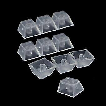 Transparent Abs Keycaps & Mechanical Keyboard Keycaps Matte Backlit