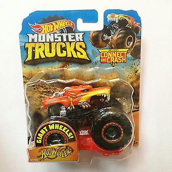 Car Monster Trucks, Big Foot Connect And Crash, Collector Edition, Metal
