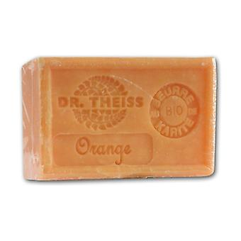 Marseille soap - orange + organic shea butter 1 unit