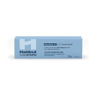 Halibut face cream 50 ml of cream