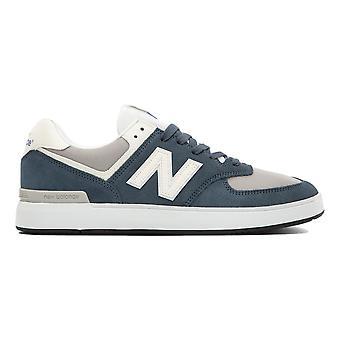 New Balance 574 Court Shoes - Indigo