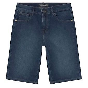 Gjett gutter midt vask blå denim shorts l0bd00d48s0