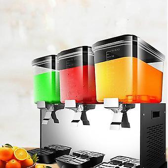 Dispensador de suco de máquina de bebidas frias três tanques comerciais líquido-er