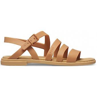 Crocs 206107 Tulum Sandal Naisten Sandaalit Tumma Kulta