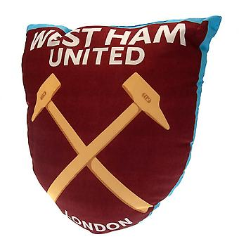 West Ham United FC Crest Filled Cushion