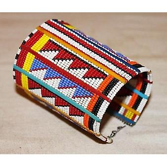African Maasai Beaded Traditional Ethnic Beaded Bracelet /