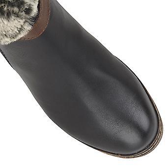 Lotus Charmaine Talons mid-calf Ladies Boots - Noir