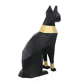 Cat Bastet Egypt 3d Paper Model Animal Papercraft Action Figure