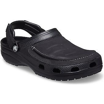Crocs Mens Yukon Vista II جلد أحذية الشاطئ القباقيب