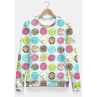 Sweet Donuts Printed Pullover