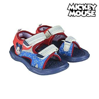 Children's sandals mickey mouse 74319 navy blue red